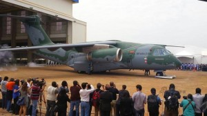 Embraer rolls out KC-390 military airlifter 2